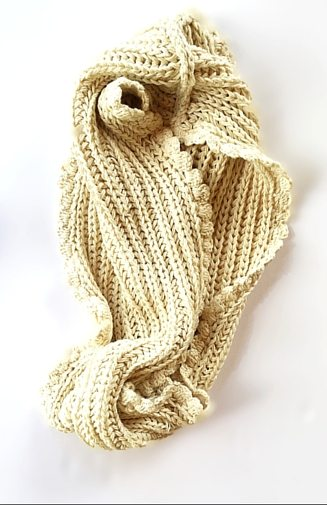 Knit Scarf Cotton KI-K-STC