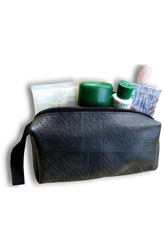 Bag Toiletry Recycled Tire BG-D-RTL