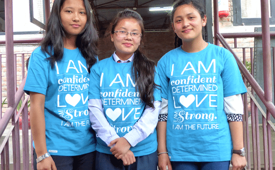 Educate girls in Nepal through the Conscious Connections Foundation's Power of 5